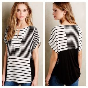 One September Madrigal striped top